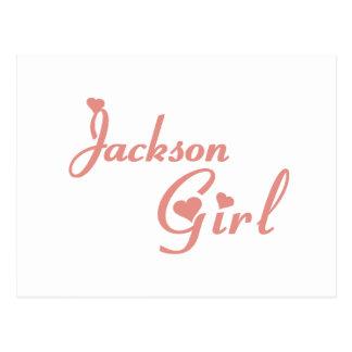 Jackson Girl tee shirts Postcard