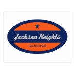Jackson Heights Tarjeta Postal