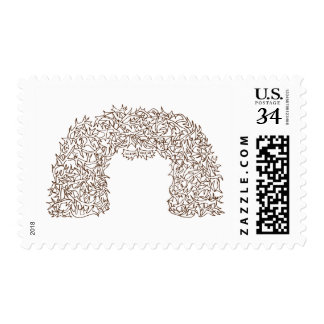 Jackson Hole Antler Arches Stamp