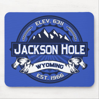 Jackson Hole Color Logo Mousepad