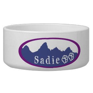 Jackson hole custom dog bowl