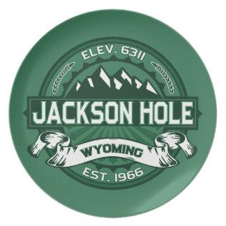 Jackson Hole Forest Plates
