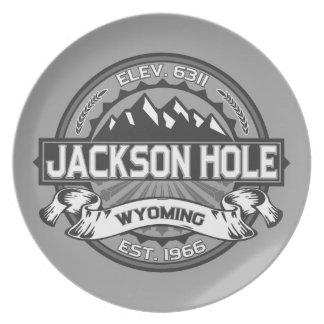 Jackson Hole Grey Plates