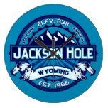 Jackson Hole Ice Wall Clock