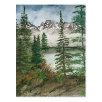 Jackson Hole Jenny Lake Postcard