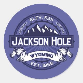 Jackson Hole Midnight Classic Round Sticker
