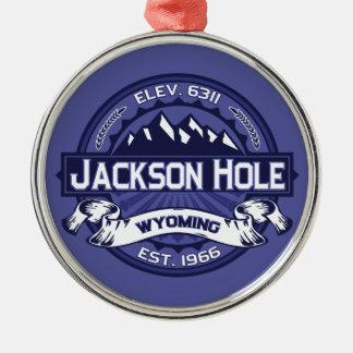 Jackson Hole Midnight Metal Ornament