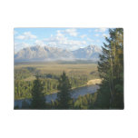 Jackson Hole Mountains and River Doormat