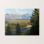 Jackson Hole Mountains and River Jigsaw Puzzle