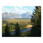 Jackson Hole Mountains and River Photo Print