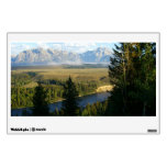 Jackson Hole Mountains and River Wall Decal