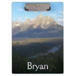 Jackson Hole Mountains (Grand Teton National Park) Clipboard