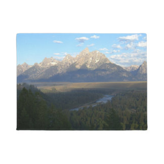 Jackson Hole Mountains (Grand Teton National Park) Doormat