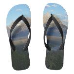 Jackson Hole Mountains (Grand Teton National Park) Flip Flops