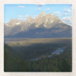 Jackson Hole Mountains (Grand Teton National Park) Glass Coaster