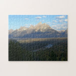 Jackson Hole Mountains (Grand Teton National Park) Jigsaw Puzzle