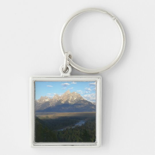 Jackson Hole Mountains (Grand Teton National Park) Keychain