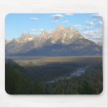 Jackson Hole Mountains (Grand Teton National Park) Mouse Pad