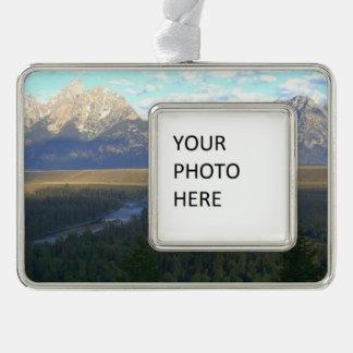 Jackson Hole Mountains (Grand Teton National Park) Ornament