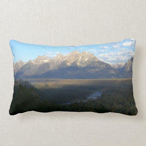 Jackson Hole Mountains, Grand Teton National Park Pillows