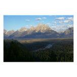 Jackson Hole Mountains (Grand Teton National Park) Poster