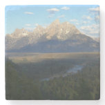 Jackson Hole Mountains (Grand Teton National Park) Stone Coaster