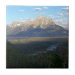 Jackson Hole Mountains (Grand Teton National Park) Tile