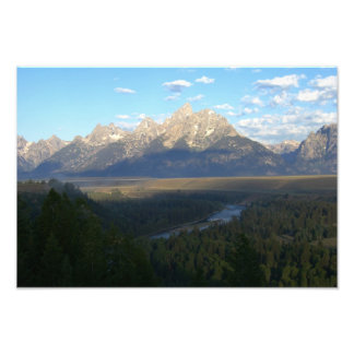 Jackson Hole Mountains Photo Print