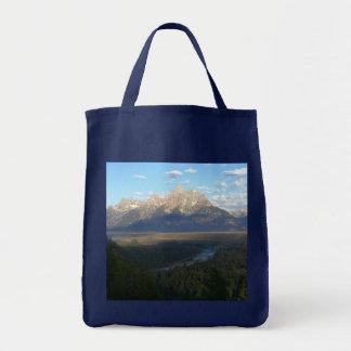 Jackson Hole Mountains Tote Bag