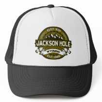 Jackson Hole Olive Trucker Hat