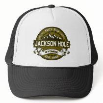 Jackson Hole Olive Trucker Hat