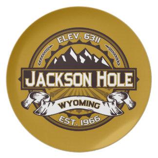 Jackson Hole Tan Plate