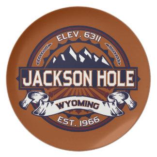 Jackson Hole Vibrant Party Plates