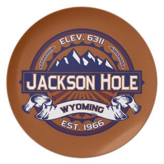 Jackson Hole Vibrant Dinner Plate
