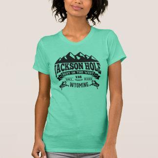 Jackson Hole Vintage Black T-Shirt
