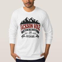 Jackson Hole Vintage Maroon T-Shirt