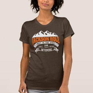Jackson Hole Vintage Orange T-Shirt