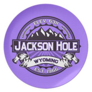 Jackson Hole Violet Dinner Plates