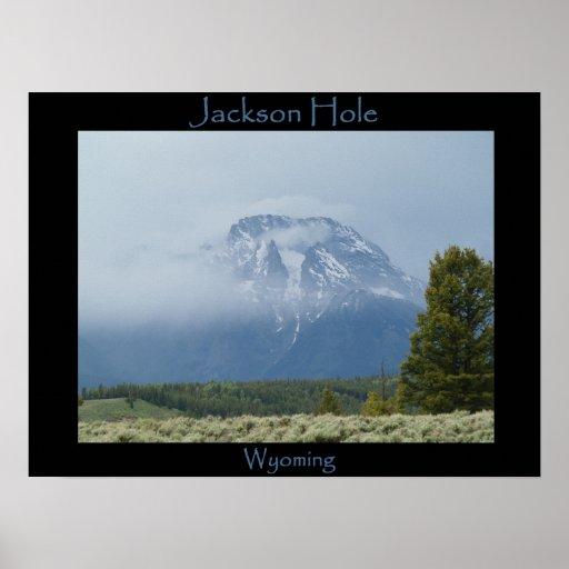 Jackson Hole, Wy Póster