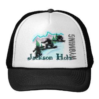 Jackson Hole Wyoming snowboard hat