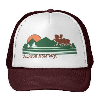 Jackson Hole Wyoming Trucker Hat