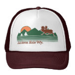 Jackson Hole Wyoming Trucker Hats
