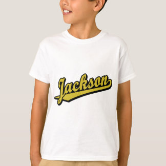 Jackson in Gold T-Shirt