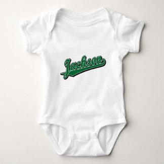 Jackson in Green T-shirt