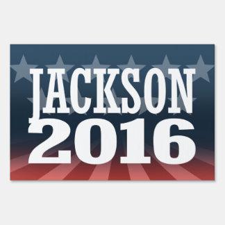 Jackson - Jef Jackson 2016 Lawn Sign