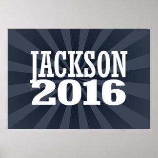 Jackson - Jef Jackson 2016 Poster