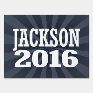 Jackson - Jef Jackson 2016 Sign
