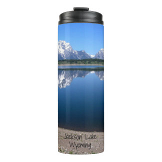 Jackson Lake, Wyoming Thermal Tumbler