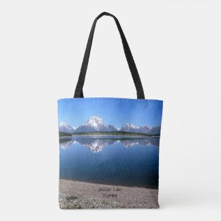 Jackson Lake, Wyoming Tote Bag