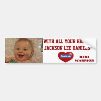 Jackson Lee Daniels Bumper Sticker